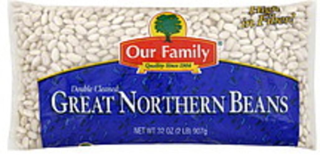 Our Family Great Northern Beans - 32 oz