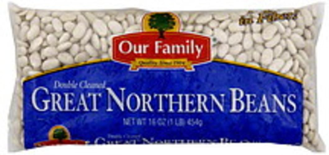 Our Family Great Northern Beans - 16 oz