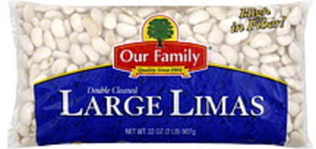 Our Family Large Limas