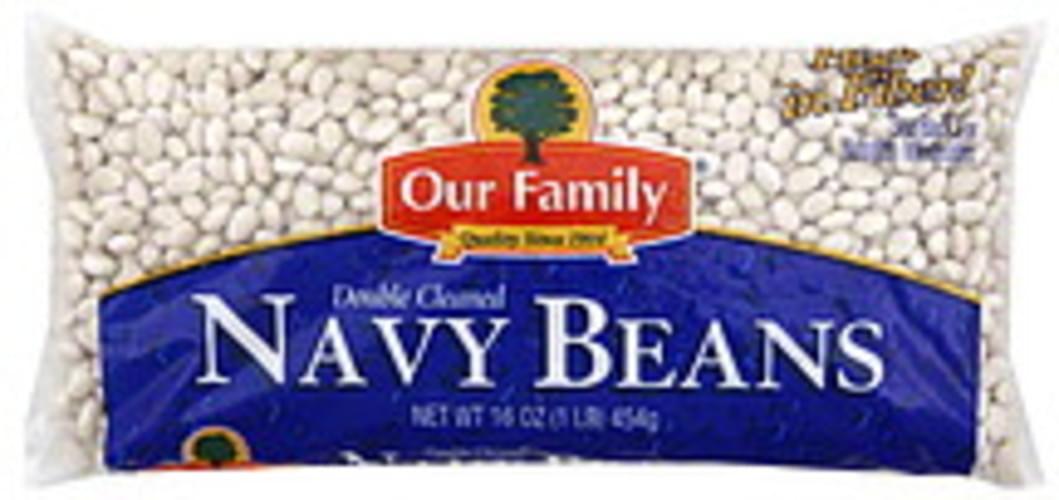 Our Family Navy Beans - 16 oz