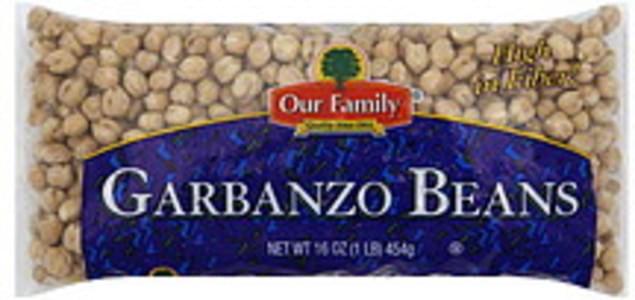 Our Family Garbanzo Beans