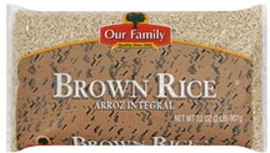 Our Family Brown Rice