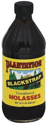 Plantation Blackstrap, Unsulphured Molasses - 15 oz
