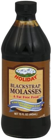 Holiday Blackstrap Molasses - 15 oz