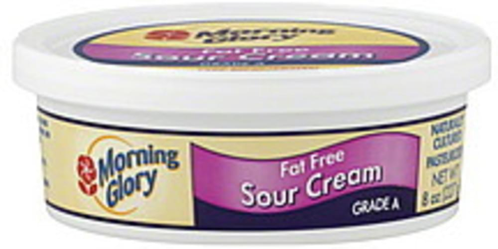 Morning Glory Fat Free Sour Cream - 8 oz