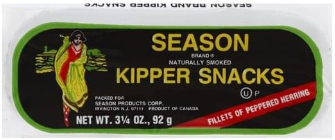 Season Kipper Snacks - 3.25 oz