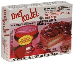 Kojel Jel Dessert Imitation Flavor Strawberry