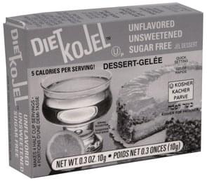 Kojel Jel Dessert Unflavored