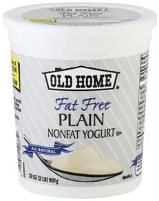 Old Home Yogurt Nonfat, Plain