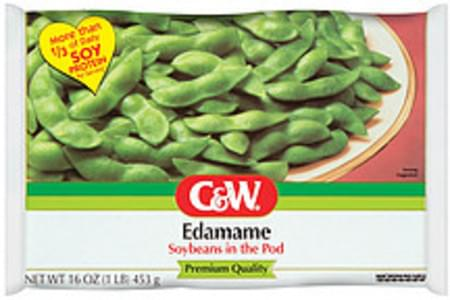 C&w Soybeans In The Pod
