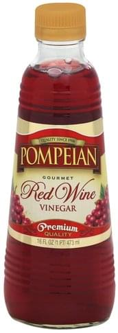 Pompeian Red Wine Vinegar - 16 oz