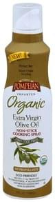 Pompeian Cooking Spray Non-Stick, Organic, Extra Virgin Olive Oil
