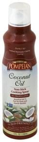 Pompeian Cooking Spray Non-Stick, Coconut Oil