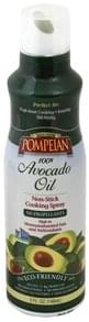 Pompeian Cooking Spray Non-Stick, 100% Avocado Oil