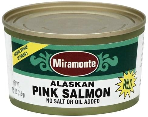 Miramonte Alaskan Pink, Wild Salmon - 7.5 oz