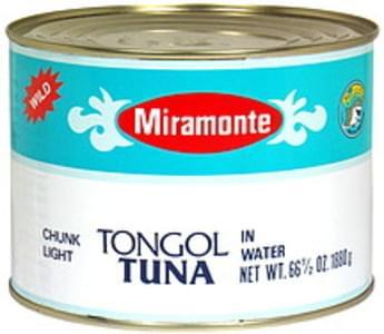 Miramonte Chunk Light Tongol Tuna in Water