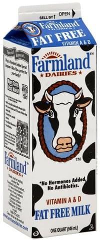 Farmland Fat Free Milk - 1 QT