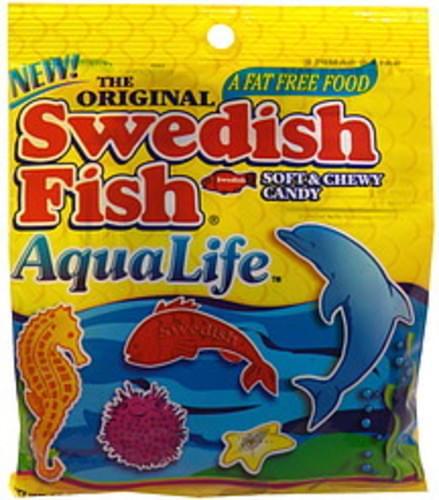 Swedish Fish Aqua Life Soft & Chewy Candy - 4 5 oz