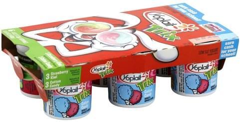 Yoplait Low Fat, Trix, Strawberry Kiwi