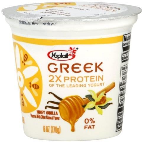 Yoplait Fat Free, Honey Vanilla Yogurt