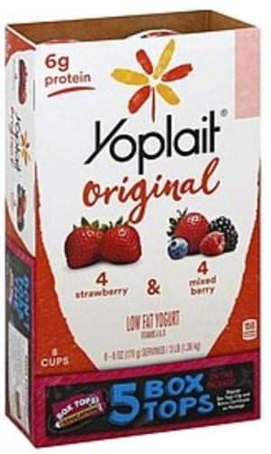 Strawberry & Mixed Berry Yogurt