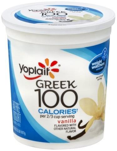 Yoplait Fat Free, Vanilla Yogurt - 32