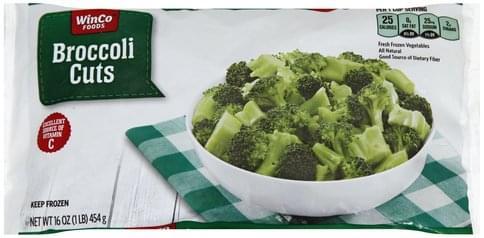 Winco Foods Cuts Broccoli - 16 oz