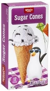 Winco Foods Sugar Cones