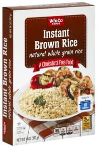 Winco Foods Brown Rice Instant