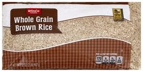 Winco Foods Brown Rice Whole Grain