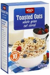 Winco Foods Oat Cereal Whole Grain, Toasted Oats
