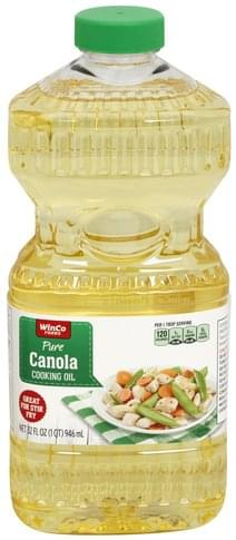 Winco Foods Pure, Canola Cooking Oil - 32 oz