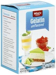 Winco Foods Gelatin Unflavored