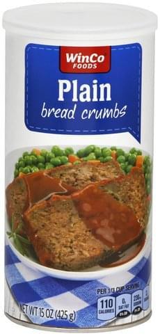 Winco Foods Plain Bread Crumbs - 15 oz