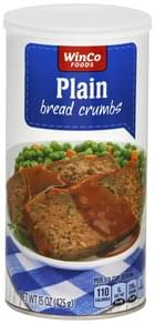 Winco Foods Bread Crumbs Plain