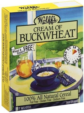 Wolffs Cream of Buckwheat - 13 oz
