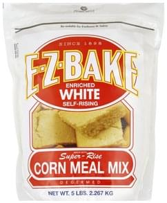 Prairie Mills Corn Meal Mix Enriched White, Self-Rising, Degermed