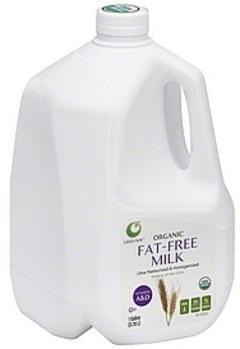 Green Way Milk Organic, Fat-Free