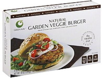 Green Way Veggie Burger Garden