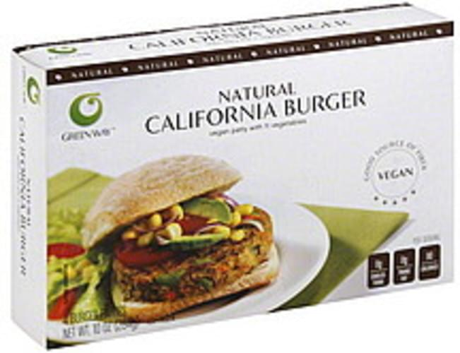Green Way California Burger - 10 oz