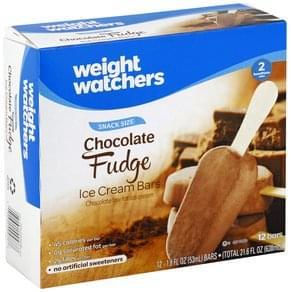 Weight Watchers Ice Cream Bars Chocolate Fudge, Snack Size