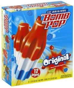 Bomb Pop Frozen Confection Original