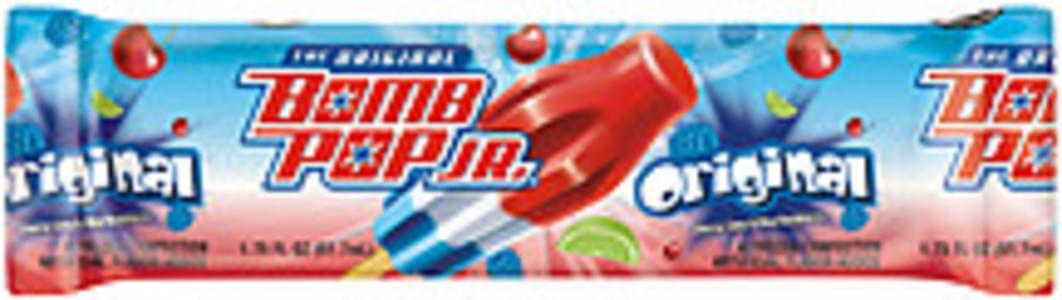 Bomb Pop Frozen Confection The Original Cherry/Lime & Blue Raspberry