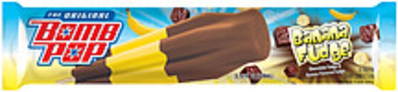 Blue Bunny Frozen Confection Bomb Pop The Original Banana Fudge