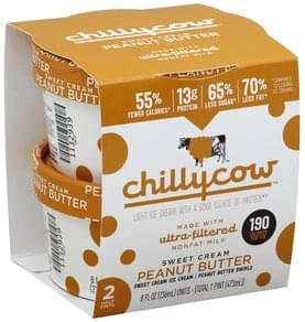 Chillycow Ice Cream Light, Sweet Cream Peanut Butter