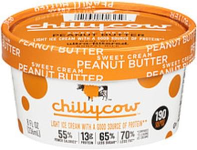 Chilly Cow Chilly Cow Sweet Cream Peanut Butter Ice Cream Sweet Cream Peanut Butter
