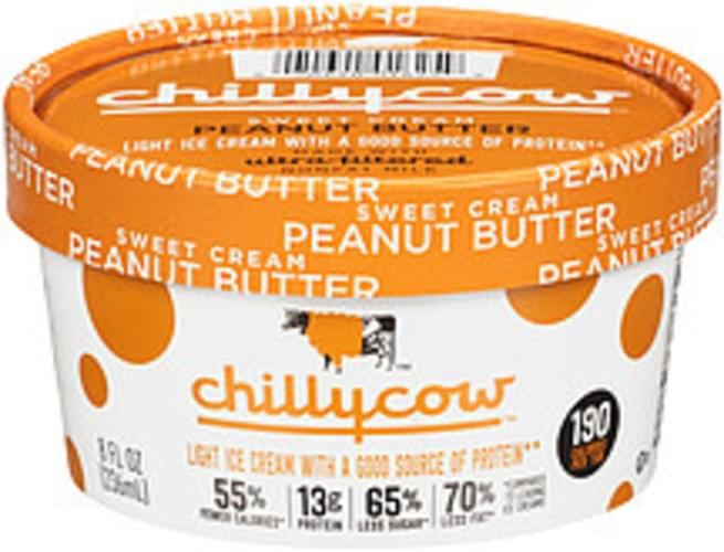 Chilly Cow Sweet Cream Peanut Butter Chilly Cow Sweet Cream Peanut Butter Ice Cream - 0