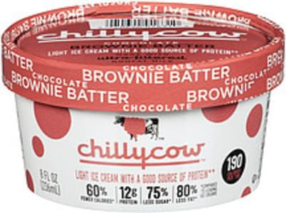 Chilly Cow Chillycow Chocolate Brownie Batter Ice Cream Chocolate Brownie Batter