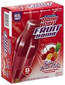Bomb Pop Fruit Ice Pop Cherry Fruit Punch