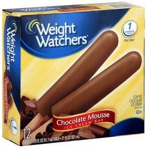 Weight Watchers Ice Cream Bar Chocolate Mousse